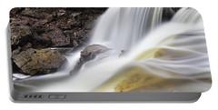 Minneopa Falls Closeup Portable Battery Charger