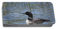 Portable Battery Charger featuring the photograph Minnesota State Bird by Penny Meyers