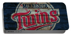 Minnesota Twins Barn Door Portable Battery Charger