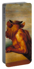 Minotaur Portable Battery Charger by George Frederic