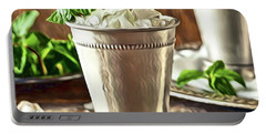 Mint Julep Double Portable Battery Charger