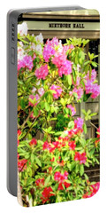 Portable Battery Charger featuring the photograph Minthorn Hall Vp 5x15 by Jerry Sodorff