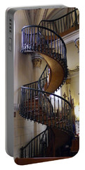 Portable Battery Charger featuring the photograph Miraculous Stairs by Kurt Van Wagner