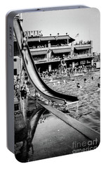 Portable Battery Charger featuring the photograph Miramar Pool  by Cole Thompson