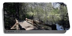 Mirror Lake At Yosemite National Park Portable Battery Charger
