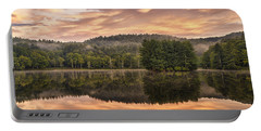 Bass Lake Sunrise - Moses Cone Blue Ridge Parkway Portable Battery Charger