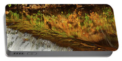 Mirroring Autumn Portable Battery Charger