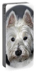 Mischievous Westie Dog Portable Battery Charger