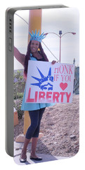 Miss Liberty Portable Battery Charger