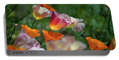 Mission Bell Poppies Portable Battery Charger