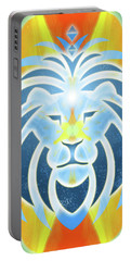 Mission Piece 2b Lions Gate Portable Battery Charger by Ginny Gaura