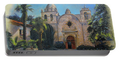 Mission San Carlos In Carmel By The Sea Portable Battery Charger