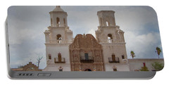 Mission San Xavier Del Bac Portable Battery Charger