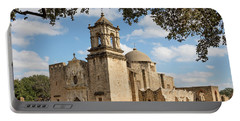 Portable Battery Charger featuring the photograph Mission San Jose by Mary Jo Allen