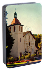 Portable Battery Charger featuring the photograph Mission Santa Clara - California by Glenn McCarthy Art and Photography