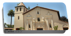 Mission Santa Clara Portable Battery Charger