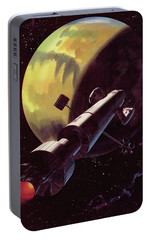 Mission To Mars Portable Battery Charger by Wilf Hardy