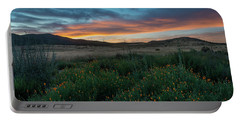 Mission Trails Poppy Sunset Portable Battery Charger
