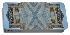 Portable Battery Charger featuring the photograph Missouri Capitol - Abstract by Nikolyn McDonald