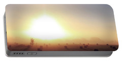 Portable Battery Charger featuring the photograph Missouri Morning Fog by Christopher McKenzie