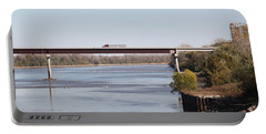 Missouri River At Boonville Portable Battery Charger