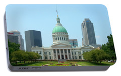 Missouri State Capitol Building Portable Battery Charger by Mike McGlothlen