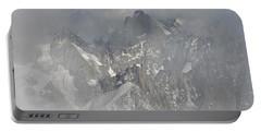 Mist At Aiguille Du Midi Portable Battery Charger