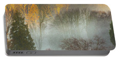 Mist In The Park Portable Battery Charger