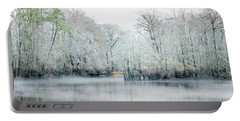 Mist On The River Portable Battery Charger