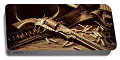 Mister Durant's Revolver Portable Battery Charger by American West Legend By Olivier Le Queinec