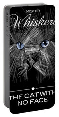 Mister Whiskers Portable Battery Charger