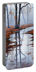Misty Autumn Colors Portable Battery Charger