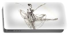 Misty Ballerina Dancer IIi Portable Battery Charger