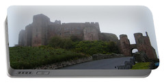 Misty Bamburgh Castle Portable Battery Charger