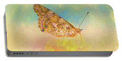 Misty Butterfly Portable Battery Charger