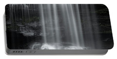 Misty Canyon Waterfall Portable Battery Charger