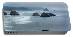 Misty Coastline Portable Battery Charger