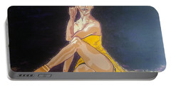 Misty Copeland Portable Battery Charger by Rachel Natalie Rawlins