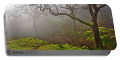 Misty Forest Portable Battery Charger by Keith Boone