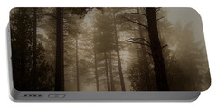 Portable Battery Charger featuring the photograph Misty Forest Morning by Broderick Delaney