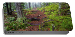 Misty Forest Trail Portable Battery Charger