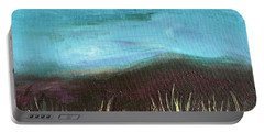 Misty Moors Portable Battery Charger by Donna Blackhall
