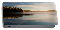 Portable Battery Charger featuring the photograph Misty Morning by Brent L Ander