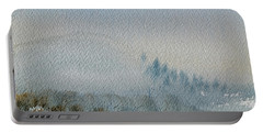 A Misty Morning Portable Battery Charger