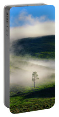 Portable Battery Charger featuring the photograph Misty Morning by Greg Norrell