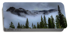 Misty Morning Jasper National Park Portable Battery Charger