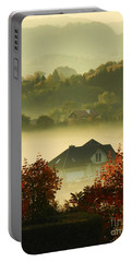 Misty Morning			 Portable Battery Charger by Mariola Bitner