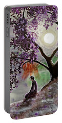 Misty Morning Meditation Portable Battery Charger
