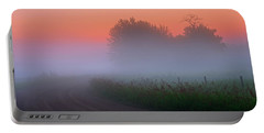 Misty Mornings Portable Battery Charger