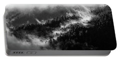 Misty Mountain Pines Portable Battery Charger